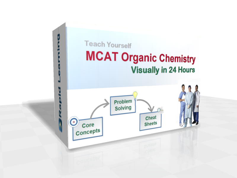 Mcat organic chemistry visually in 24 hours